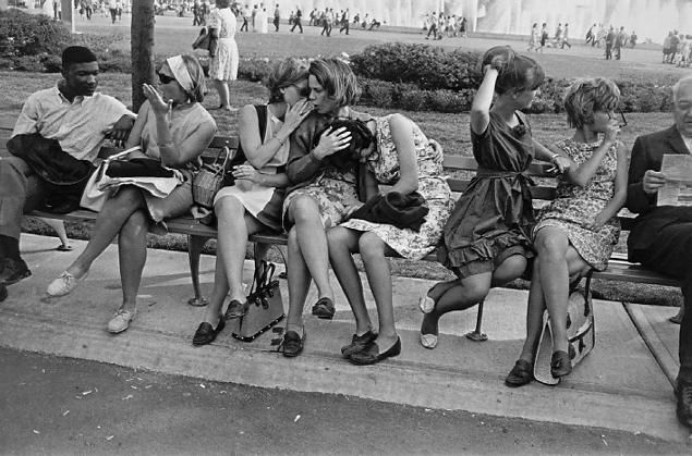 Gary Winogrand.  Love how this man took pictures.