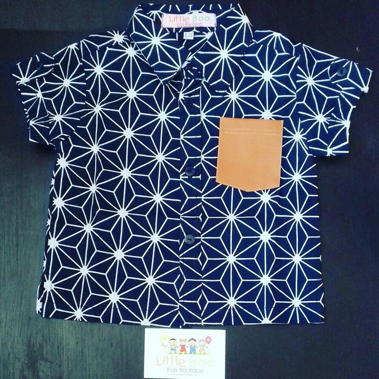 Little Boo Kids - made in Bali - cool boy shirt