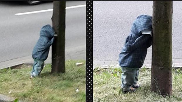 Düsseldorf: Rätsel um gruselige Puppen-Kinder am Straßenrand