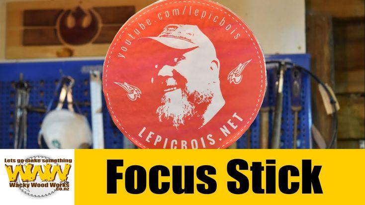 Focus Stick - Flat Pat Challenge - Off the Cuff - Wacky Wood Works.