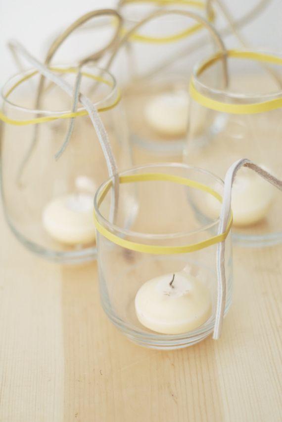 Best 25 hanging candles ideas on pinterest garden for Homemade votive candles