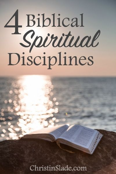 These are spiritual disciplines found in the Bible that are important for laying a solid foundation for spiritual growth and maturity.