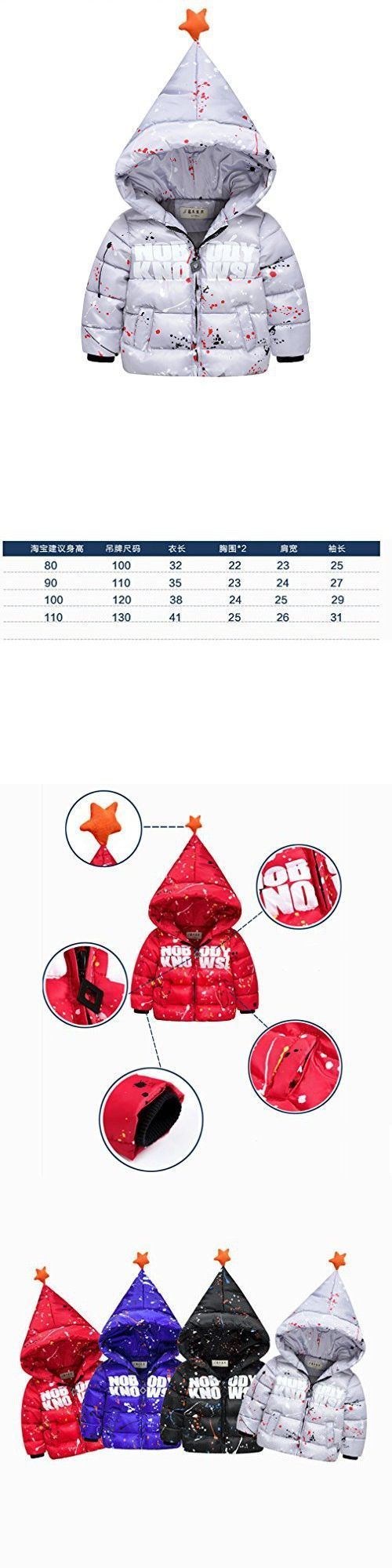 Iumer Winter Baby Girl Coat Toddler Jacket Outwear Cotton Padded Jacket Baby Ultra-light Down Jackets Gray #babygirljackets #babyjackets