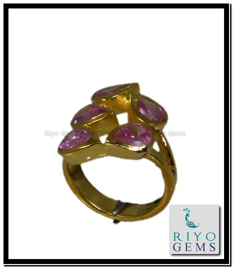 Yellow Gold Amethyst Ring from Riyo Gems http://www.riyogems.com