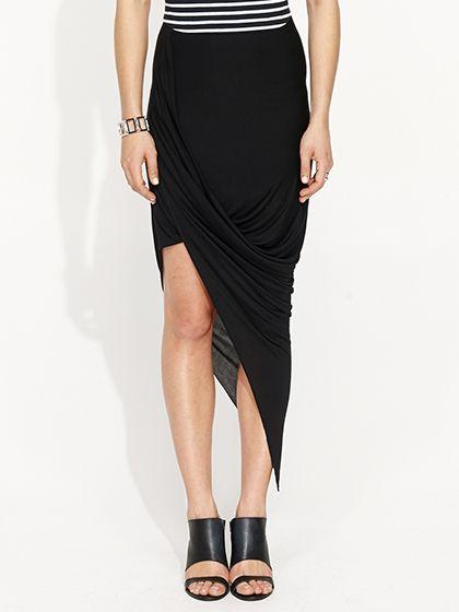Portmans Drape Skirt