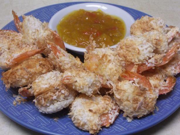 Low Fat Coconut Shrimp 120