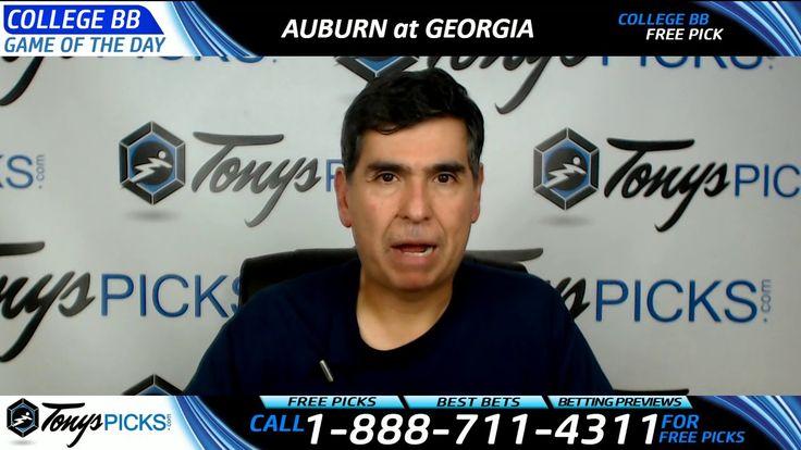 Auburn vs. Georgia Free NCAA Basketball Picks and Predictions 3/1/17