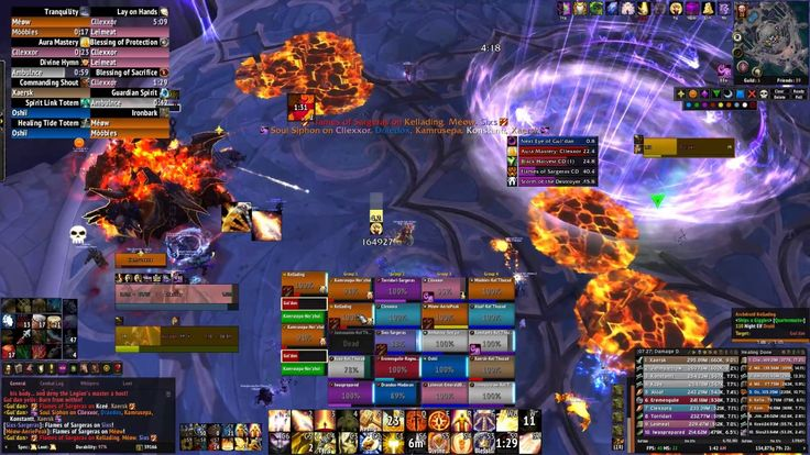 Led a heroic pug Monday night and we downed Gul'dan before the reset #worldofwarcraft #blizzard #Hearthstone #wow #Warcraft #BlizzardCS #gaming