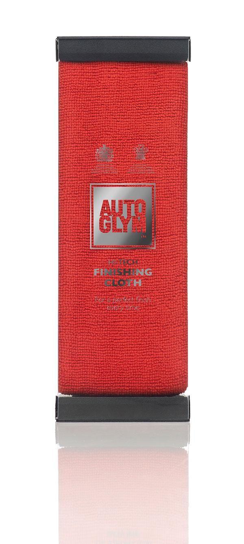 Autoglym htcloth hi tech finishing cloth red microfiber towel for