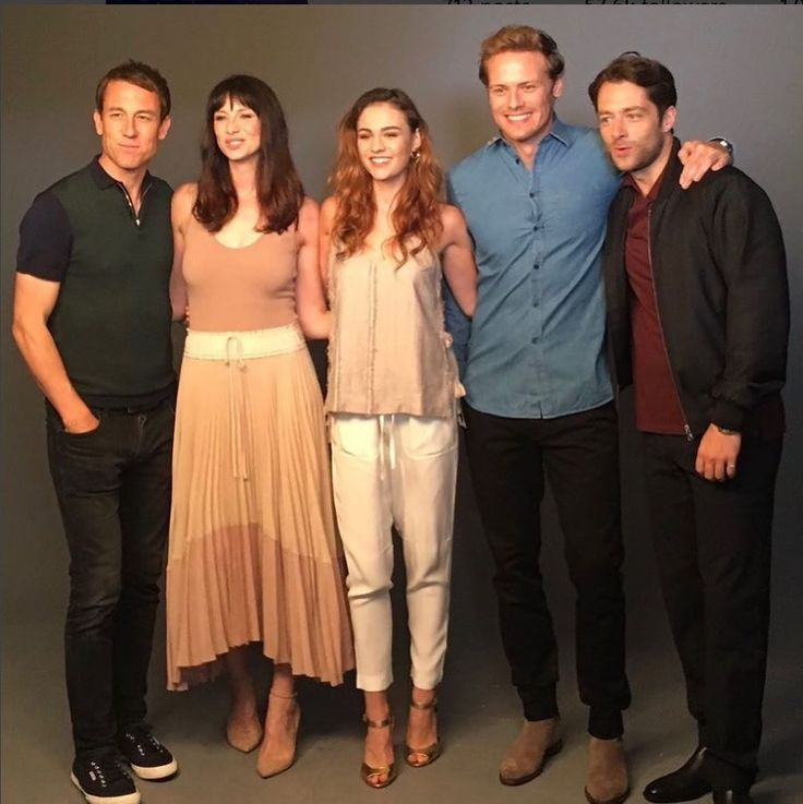 Outlander Cast - SDCC 2017