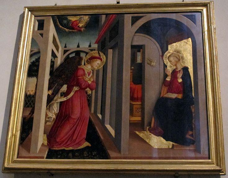 Smn, navata sx, neri di bicci, annunciazione - Category:Neri di Bicci - Wikimedia Commons. Благовещение