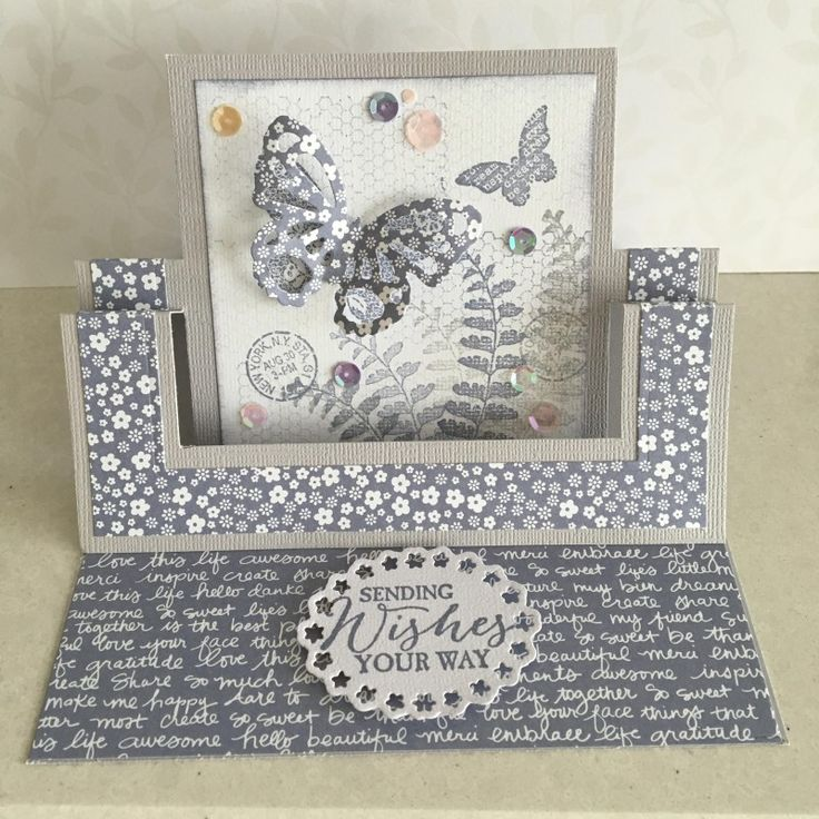 Swing Easel Card by lesleybd - Cards and Paper Crafts at Splitcoaststampers