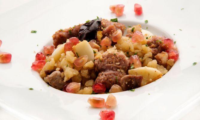 Receta de Gachasmigas, plato típico de Murcia   #Gastronomía .