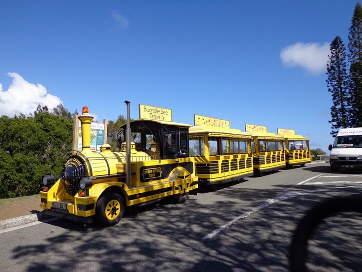 The Tchou Tchou Train tour in Noumea. A great way to spend 2 hours