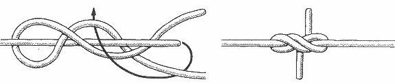 морские узлы - кинжальный
