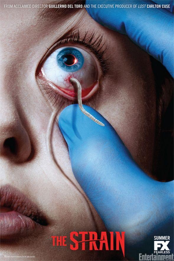¡'The Strain', está a punto de llegar! Las novelas de Guillermo del Toro y Chuck Hogan, se hacen realidad.