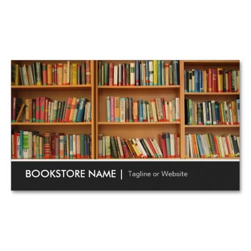 142 best book store business cards images on pinterest for Best way to store business cards