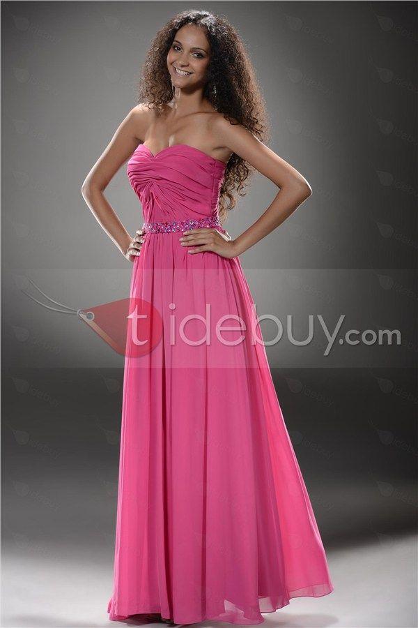 120 best vestidos de fiesta images on Pinterest   Evening gowns ...