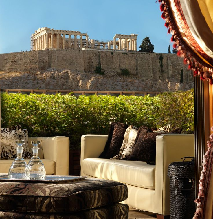 View from the Balcony of Executive Suite #DivaniPalaceAcropolis #Acropolis