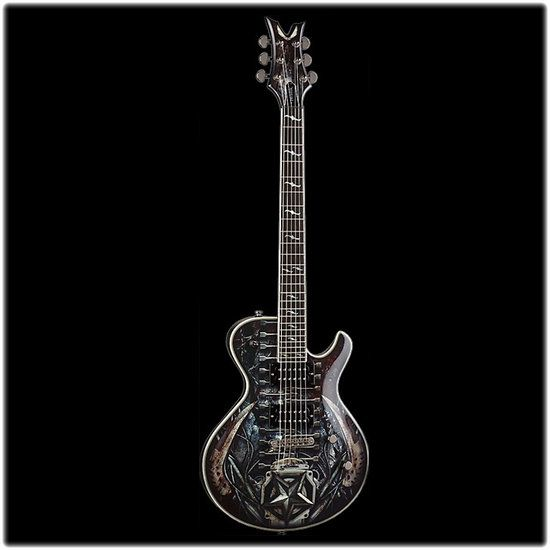 DEAN GUITARS DECEIVER - Guitare Electrique Les Paul Death Machine