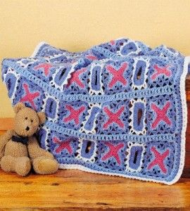 Hugs and Kisses Afghan | Crocheting Crafts | Crafts for Baby — Country Woman Magazine