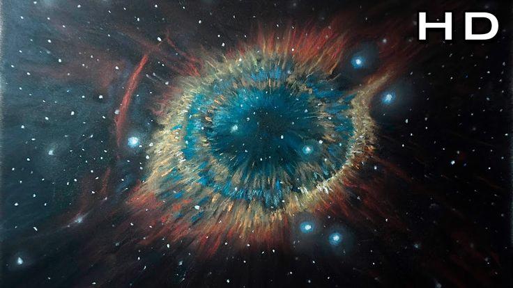Cómo Dibujar una Nebulosa y Estrellas con Tiza Pastel Paso a Paso - TUTO...