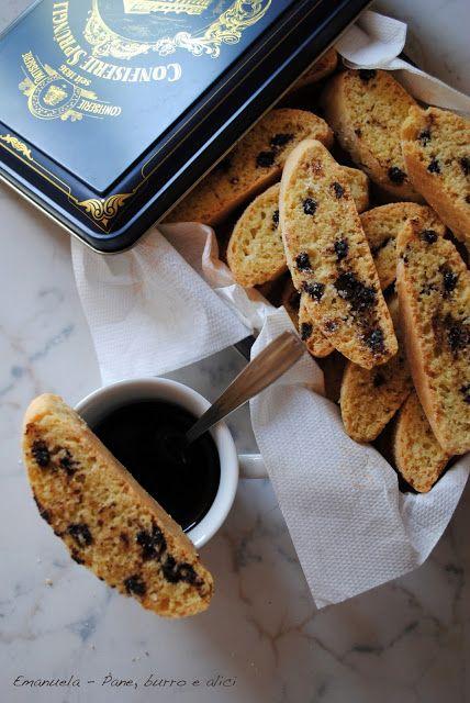 Pane, burro e alici: Biscottini semplici con le gocce di cioccolato