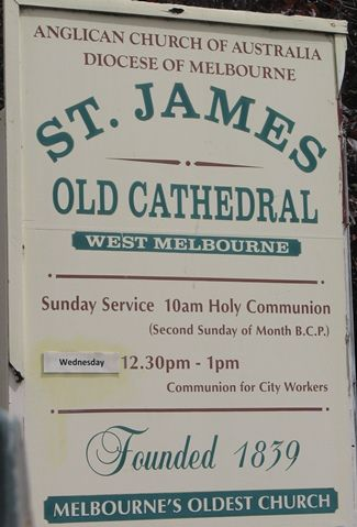 St James' Old Cathedral , Melbourne