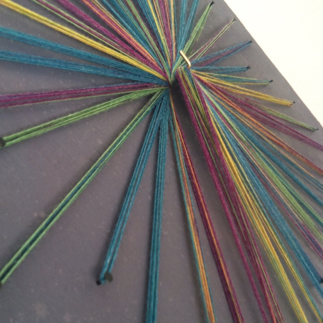 1000 images about yarn art on pinterest string art for Yarn wall art