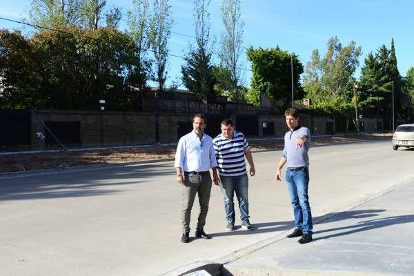 Obras de ampliación de la calle Uruguay