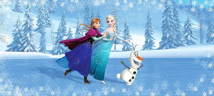 Frozen Kinderzimmer Die Eiskönigin Papier Fototapete für