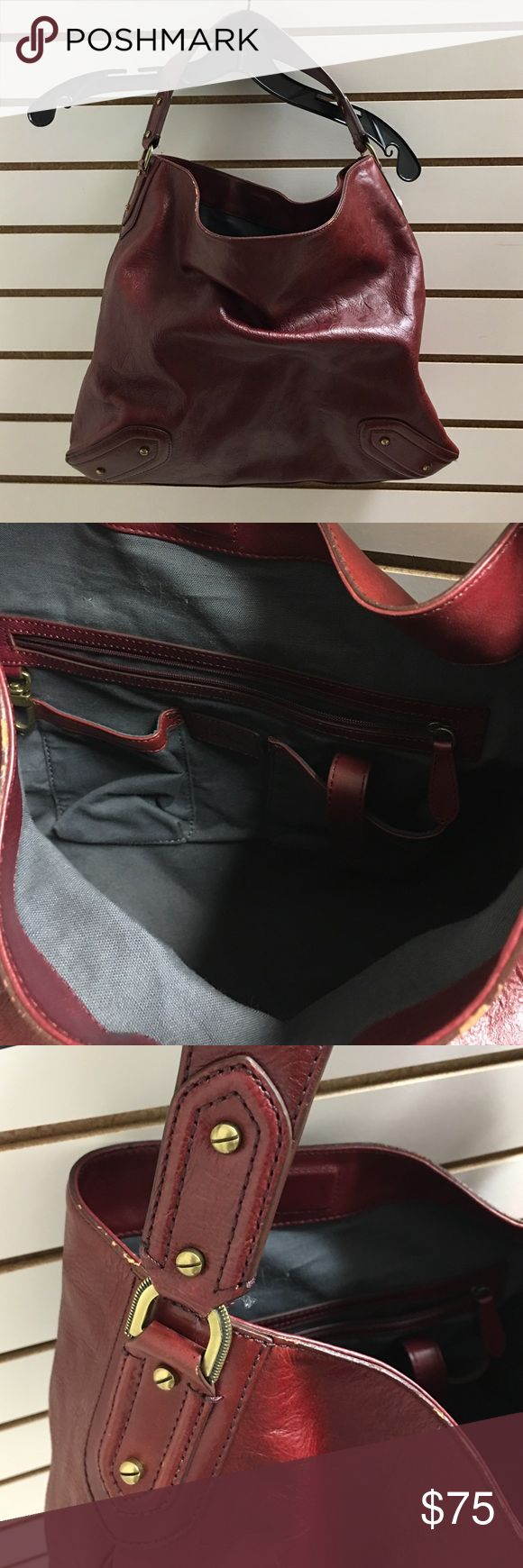 Red Cole Haan purse w/ Cole Haan bags Very nice condition / Maroon red Cole Haan Bags
