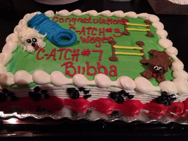 Dog Agility Cake Decorations : C-ATCH7 Agility Pinterest