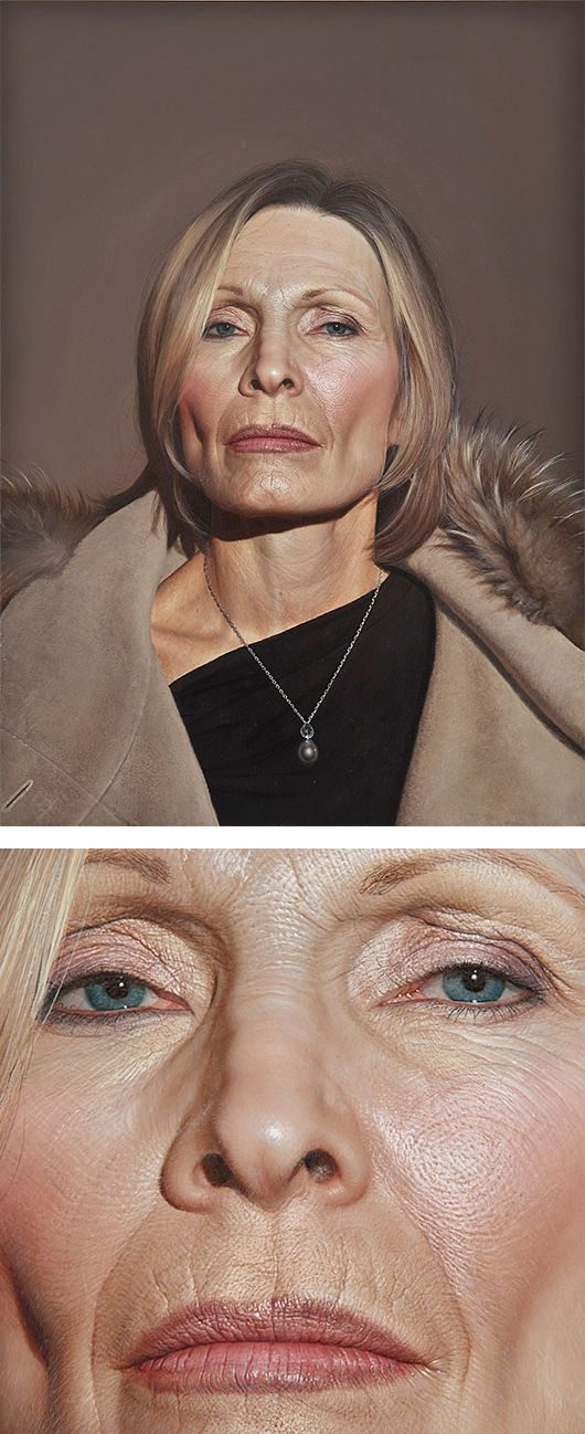 Hyper-Realistic Paintings by Bryan Drury  I didn't even see at first that this wasn't a photograph!!!