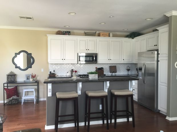 Small Spaces - Open Concept Kitchen, Dining Room and ...