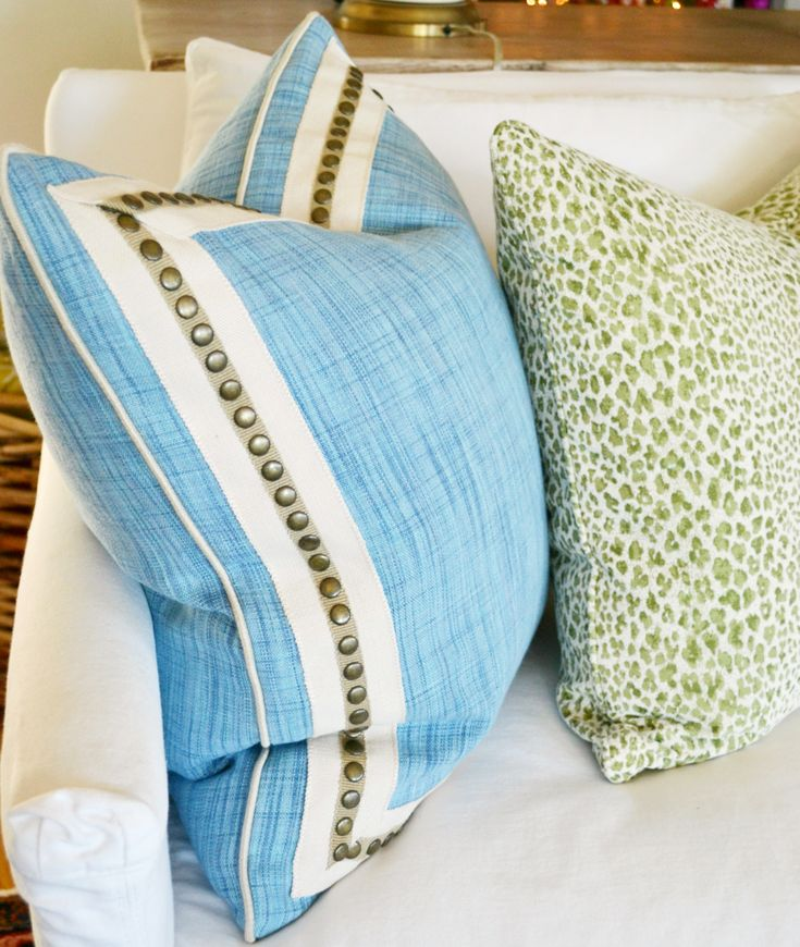 Ideas For Pillow Trim: 20 best Pillows images on Pinterest   Cushions  Decorative pillows    ,