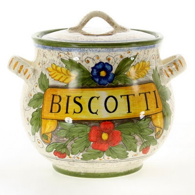 Biscotti jar from the Rustica Collection.
