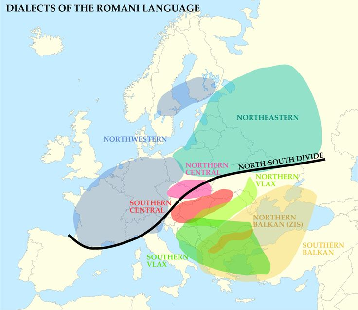 Dialects of the Romani language