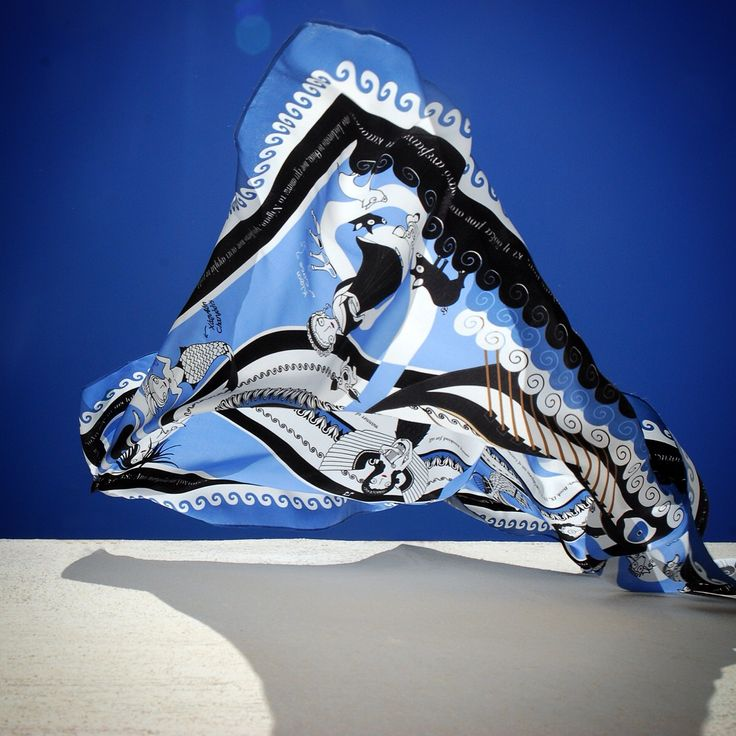 """Odysseus"" silk scarf by Grecian Chic!"
