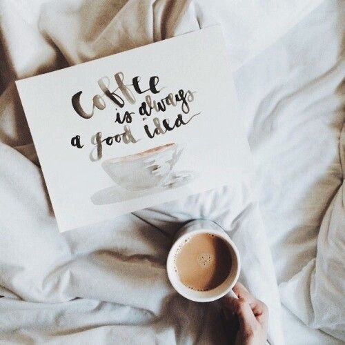 coffee & bed x