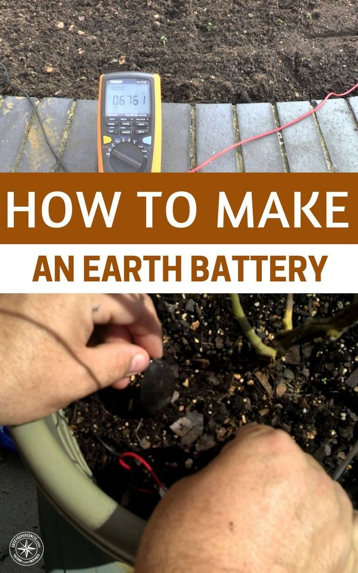 How To Make An Earth Battery - With something as simple as an old ice cube tray some soil a few bolts and copper wire you can get about 5 volts of electricity. This is enough to power a few LED lights, calculators and if you are really tech minded even a mobile or USB device.