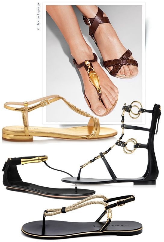 Shopping sandales du printemps-été 2014