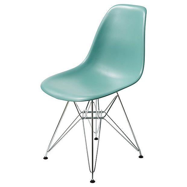 Replica Eames DSR Side Chair - Blue