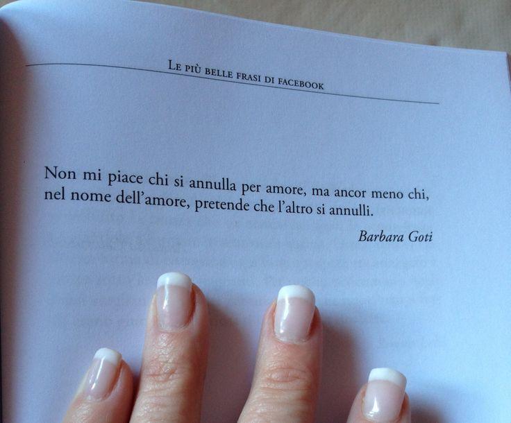 """Da """"le più belle frasi di Facebook"""" Barbara Goti"""