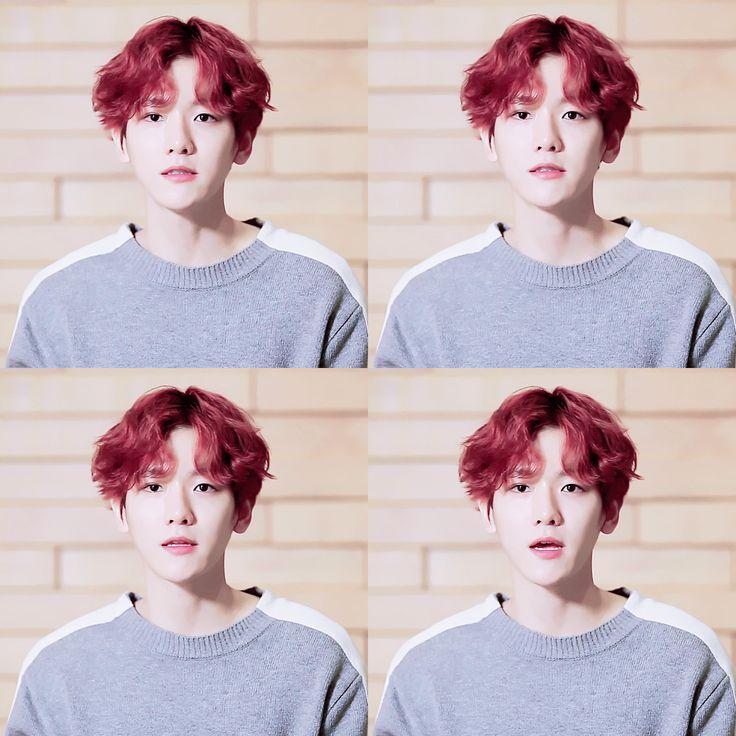 [EDIT] 161114 Baekhyun @ NPOP [NCSOFT x EXO - CBX]  Cre: Hyuneemommy