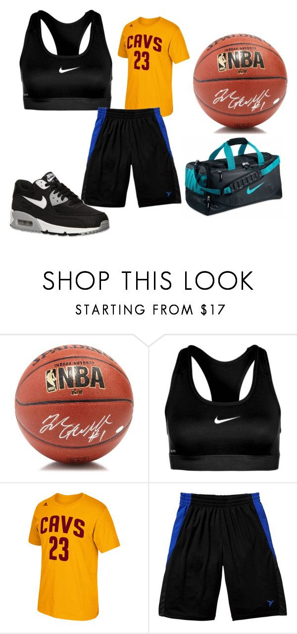"""""""beachwood bison girls basketball"""" by dasmith ❤ liked on Polyvore featuring Steiner Sports, NIKE, adidas, Old Navy and plus size clothing"""