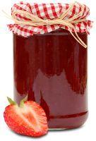 Aardbei - recept; Aardbeienjam, het lekkerste als je deze zelf maakt. Een eenvoudig maar duidelijk recept vind je op www.berriesathome.nl met nog meer recepten die je kunt maken met aardbeienjam. Eet smakelijk!
