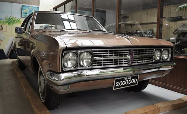 The 2 Millionth Holden - a 1969 Holden HK Brougham