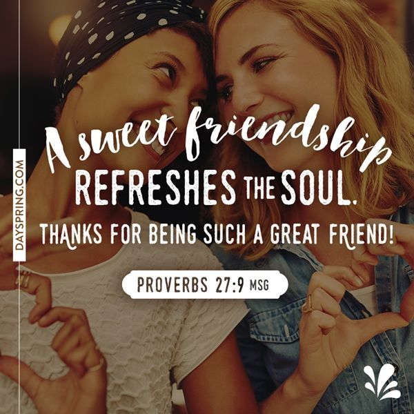 Sweet Friendship | Ecards | DaySpring                                                                                                                                                                                 More