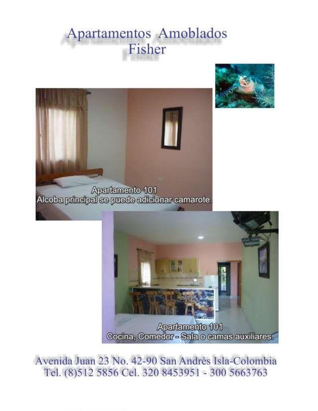 Apartamentos Vacacionales San Andres Islas Saludos      Contamos con 4 apartamentos independientes, p .. http://san-andres.evisos.com.co/apartamentos-vacacionales-san-andres-islas-id-394031